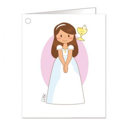 Carte pour Cadeau Communion Fille (18)