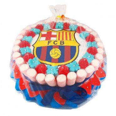 Gâteau Bonbons Fc Barcelone