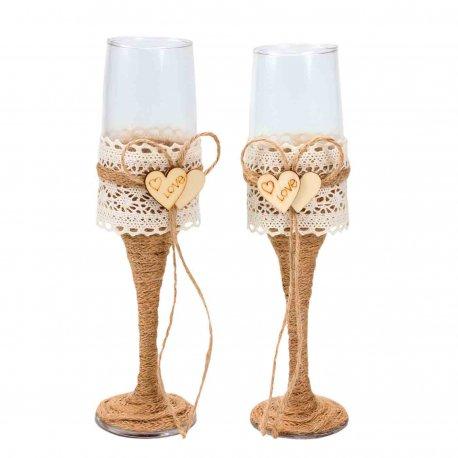 Flûtes à Champagne Originales