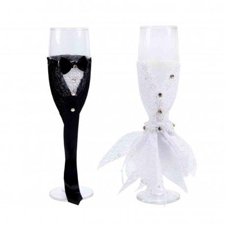 Flute Champagne Mariés