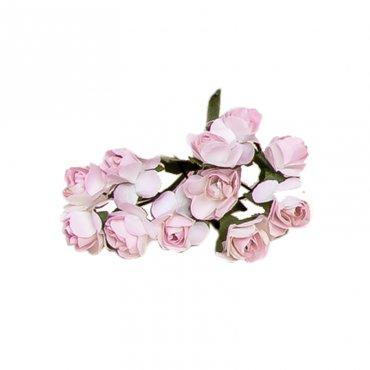 Decoration Fleur Papier Rose