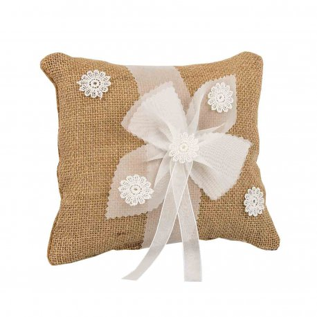 Coussin Mariage Champetre