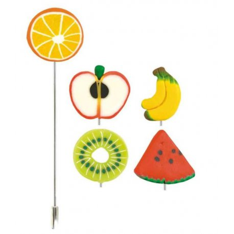 Broche Épingle Fimo Fruit