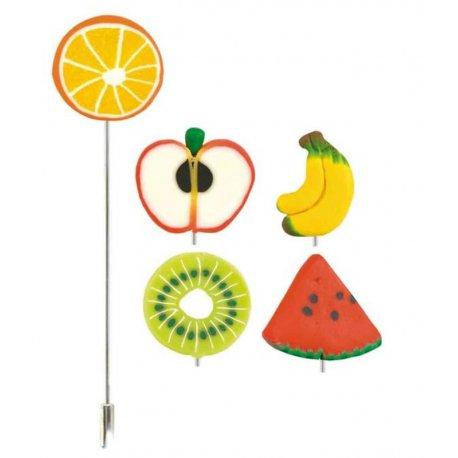 Broche Épingle Fimo Fruit