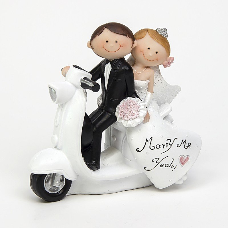 figurine pi ce mont e mariage moto. Black Bedroom Furniture Sets. Home Design Ideas