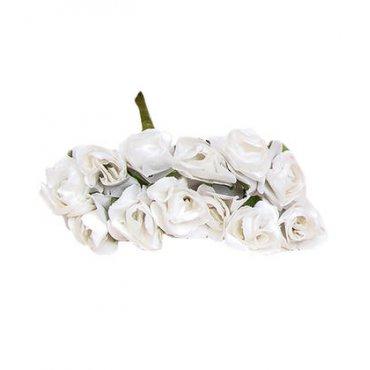 Fleurs Décoration Papier Blanc