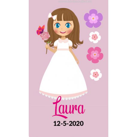 Stickers Communion Fille (36)