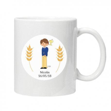 Mini Mug Communion Garçon