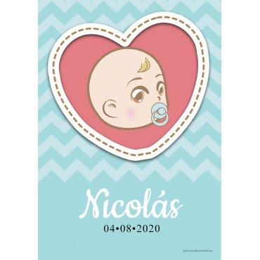 Baby Shower Garcon Stickers (18)