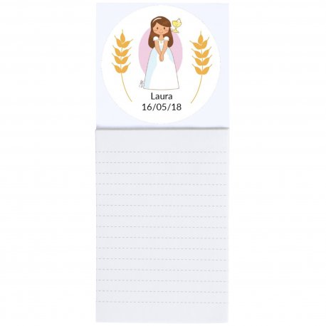 Cadeau de Communion Bloc Note