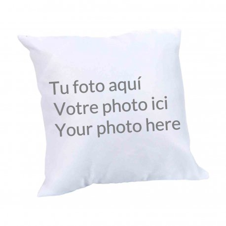 Coussin avec Photo