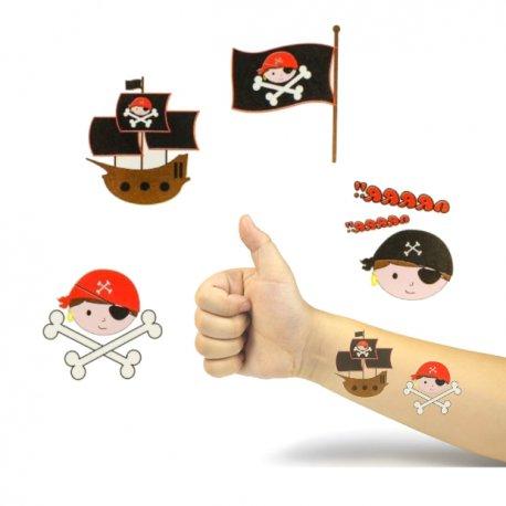 Tatouages Pirates Enfants