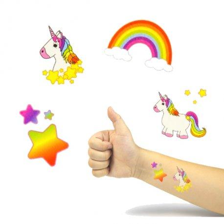 Tatouages Licorne Enfants