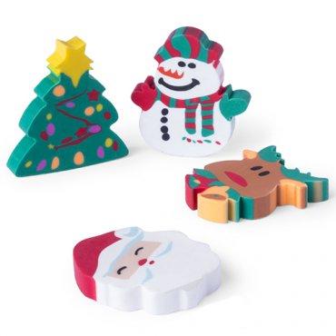 Gommes Cadeaux de Noel