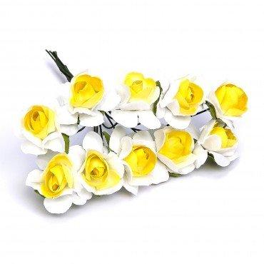 Fleur Bicolore Décoration Cadeau