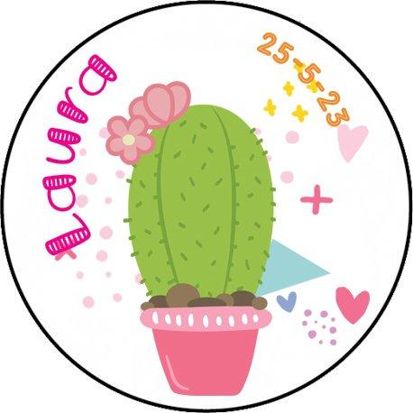 Étiquettes Autocollantes Cactus (20)