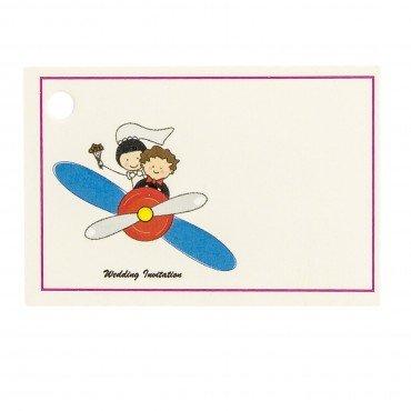 Carte Cadeau Mariage Avion