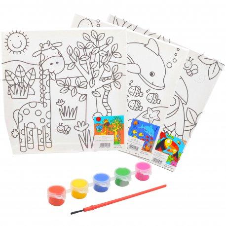 Tableaux a Peindre Enfants