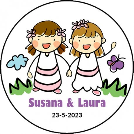 Stickers Communion Jumelles (20)