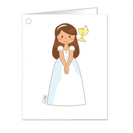 Cartes pour Cadeaux Communion Fille (18)