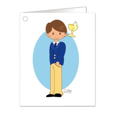 Cartes pour Cadeaux Communion Originales (18)