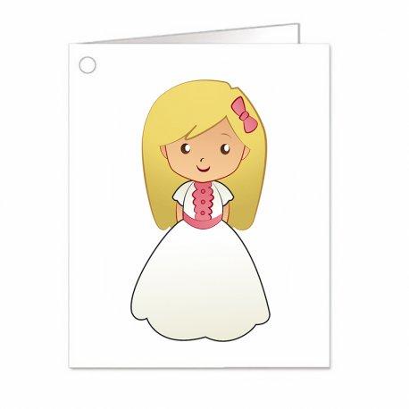 Petite Carte Communion Fille (18)