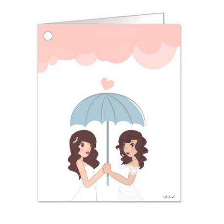 Cartes de Mariage Lesbienne (18)