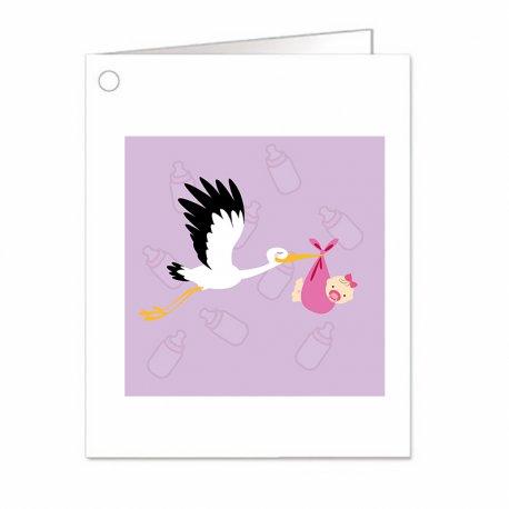Carte Bapteme Fille Cigogne (18)
