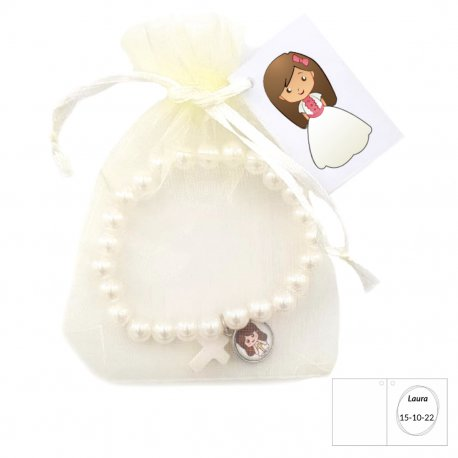 Bracelets Communion Fille