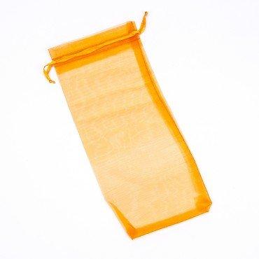 Sachets en Organza Orange 25 x 11