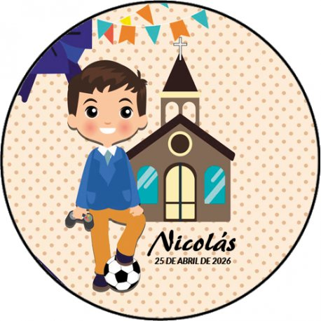 Stickers Communion Foot (20)