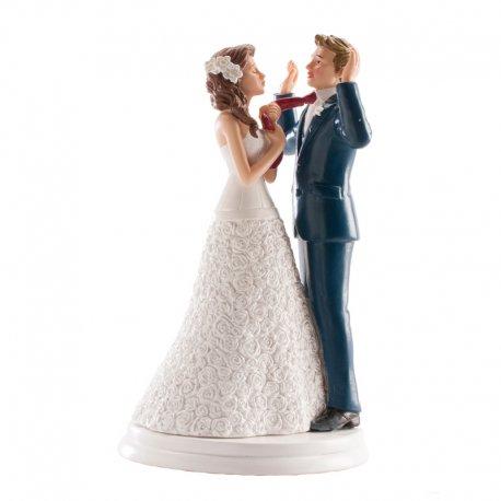 Figurine Gateau Mariage Cravate