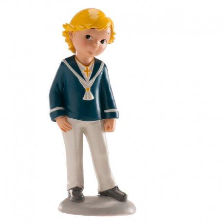 Figurine Communion Garçon Blond