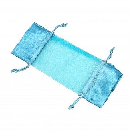 Pochettes Organza pas cher Turquoise