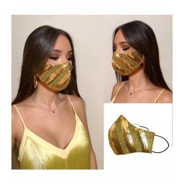masque glamour mariage