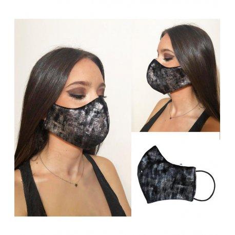 masque tissu soirée