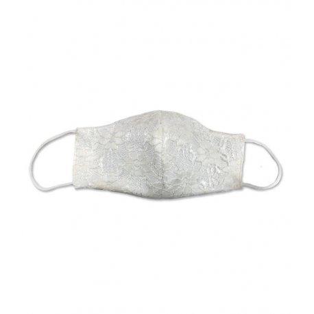 masque communion fille dentelle