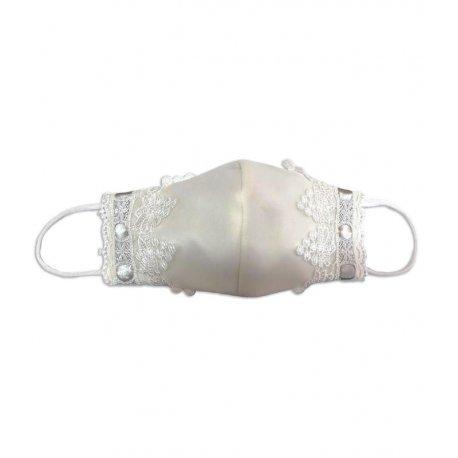 masque premiere communion dentelle