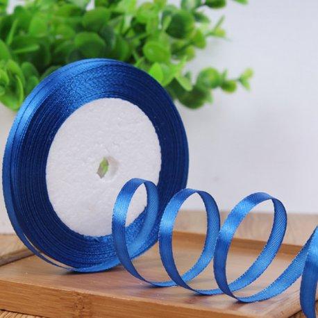 ruban cadeau tissu bleu