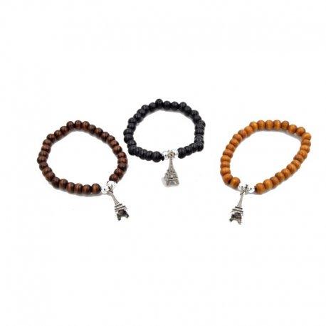 lot de 12 bracelets tour eiffel