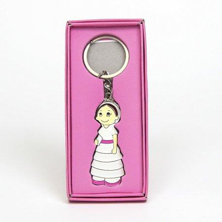 porte clés souvenirs communion