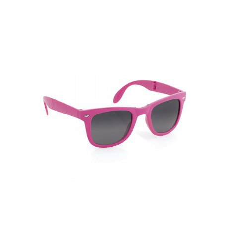 lunettes pliables rose