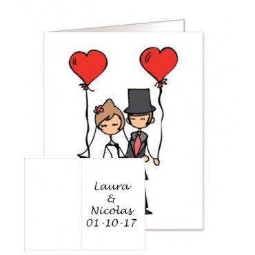 Carte Cadeau Mariage Personnalisé