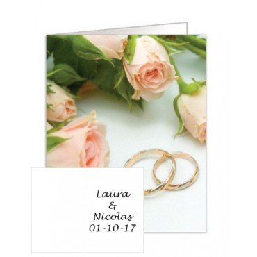 Carte Mariage Alliance