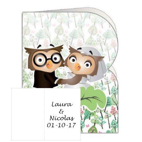 Carte Mariage Cadeau Invité