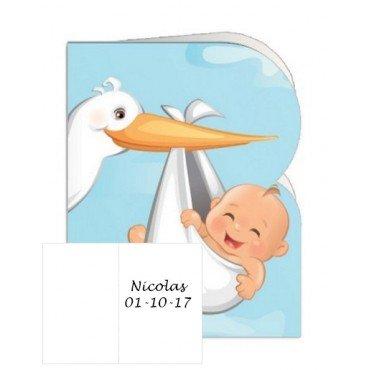 Cartes Cadeaux pour Bapteme Garçon