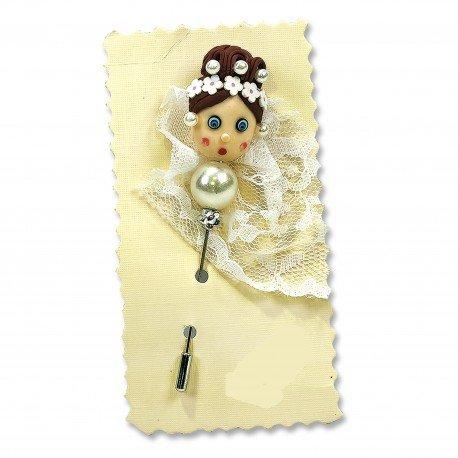 Boutonnière Mariage pour invités
