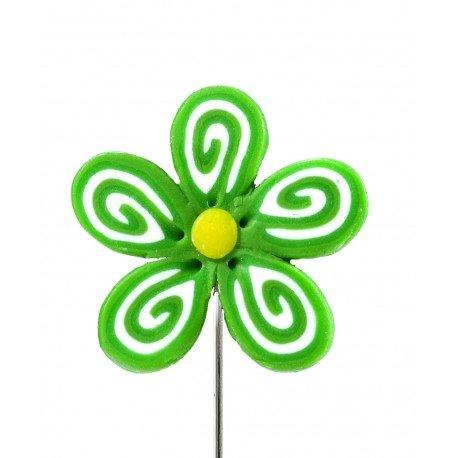 Broche Épingle Fantaisie Fleur