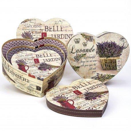 Boite Coeur Carton