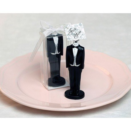 Bougie Cadeau Mariage Smoking